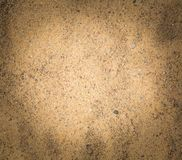 Close up of sand texture. Royalty Free Stock Image