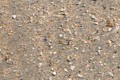 Close up of the sand on Utah Beach Royalty Free Stock Photos