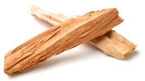 Close up of sandalwood isolatd on the white background. Close up of sandalwood isolatd on white background Stock Images