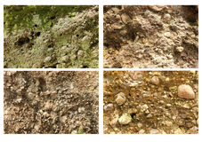 Close up of sandstone Stock Image
