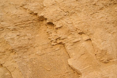 Close-up of sandstone. Stock Images