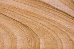 Close up of a sandstone brick Royalty Free Stock Photos