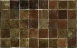Close up of a sandstone brick Stock Image