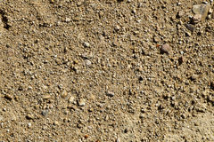 Close-up of a sandstone soil Stock Images