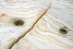 Close up of a sandstone surface , textured background Stock Photo
