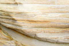 Close up of a sandstone surface , textured background Royalty Free Stock Photography