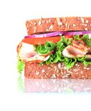 Close up of sandwich Stock Photos