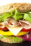 Close up sandwich Stock Photo