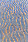 Close up of the sandy beach texture Stock Photography