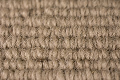 Close Up Sandy Brown Carpet Background Royalty Free Stock Photography