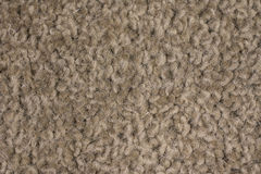 Close Up Sandy Brown Carpet Background Stock Photo