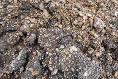 Sandy soil texture stock images