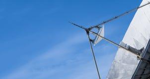 Close up Satellite dish Stock Photo