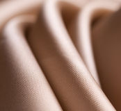 Close-up satin cloth Stock Images
