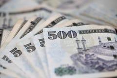 Close-up Saudi Riyal notes Royalty Free Stock Image