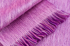 Close up scarf. Close up texture of alpaca wool scarf stock photography