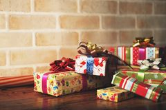 Presents scene Stock Photo