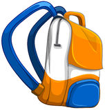 Close up school bag Stock Image