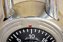 Close up of a school combination lock Stock Photography