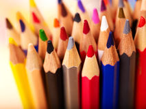Close up of school supplies. Stock Images