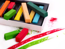 Close up of school utensils. Stock Photography