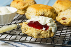 Close Up Of Scones Stock Photography