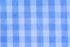 Close up scotch blue and wite textile Stock Photo