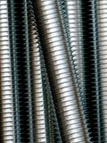 Close up of screw thread Royalty Free Stock Photos