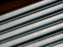 Close up of screw thread Royalty Free Stock Photography