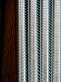 Close up of screw thread Royalty Free Stock Photos