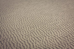 Close up of sea beach sand or Desert sand for texture and backgr Stock Photo