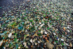 Close up of sea glass Stock Image