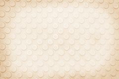 Seamless convex circle patterns abstract background,light brown royalty free stock photo