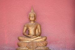 Seated Buddha image,include meditation or Buddha attained enlightenment. Close up Seated Buddha image,include meditation or Buddha attained enlightenment royalty free stock photos