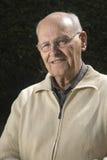 Close-up of a senior man Stock Photos