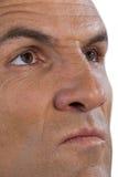 Close up serious mature man looking away Royalty Free Stock Image