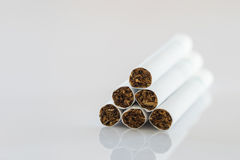 Close up set of cigarettes Royalty Free Stock Image