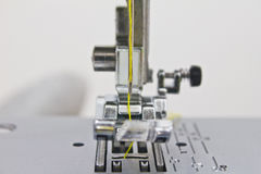 Close - up of sewing machine Royalty Free Stock Image