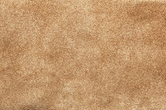 Close up shammy leather texture Stock Photography