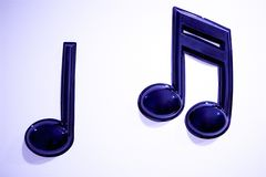 Dancing Musical Notes royalty free stock photography