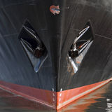 Close-up of a ship's hull Stock Photos