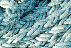 Close up of ships rope Stock Photo