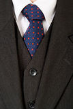 Close up of a shirt and tie. Close up of a shirt, tie and suit Royalty Free Stock Photos