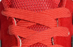 Close up shoelace Stock Photos