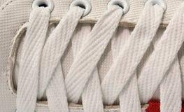 Close up shoelace Royalty Free Stock Image