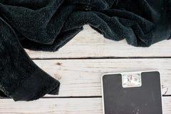 Bath Towel. A close up shot of a bath towel Stock Image