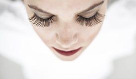 Close up shot of beautiful woman Royalty Free Stock Photo