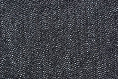 Close-up shot of black denim Stock Photos