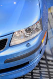 Close up shot of a car head lamp Stock Photo