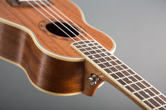 Close-up shot of classic ukulele guitar Royalty Free Stock Image